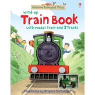 Wind-up train book (Farmyard Tales)