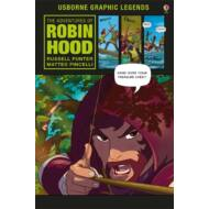 The Adventures of Robin Hood - Usborne graphic legends