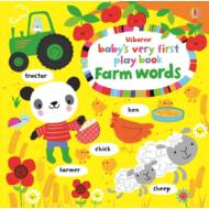 Baby's very first play book - Farm words