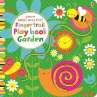 Baby's very first fingertrail play book garden