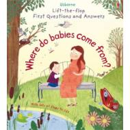 Lift-the-flap First Questions and Answers - Where do babies come from?