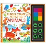 Rubber stamp activities animals