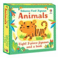 Usborne First Jigsaws: Animals