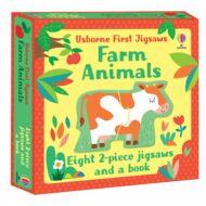 Usborne First Jigsaws: Farm Animals