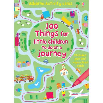 100 things for little children to do on a journey