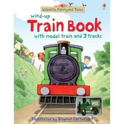 Wind-up train book (Farmyard Tales)