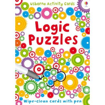 Logic puzzles - wipe clean cards with pen