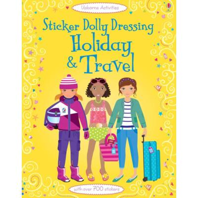 Sticker dolly dressing - Holiday and travel