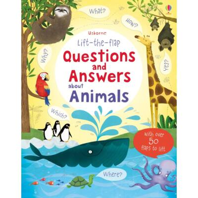 Lift-the-flap Questions and Answers about Animals