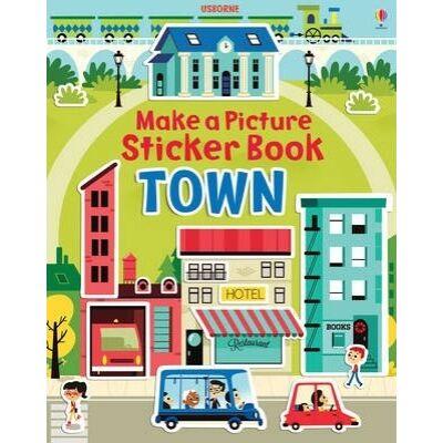 Town Make A Picture Sticker Book