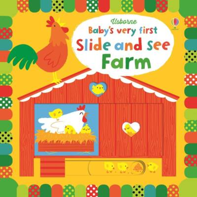 Baby's very first slide and see - Farm