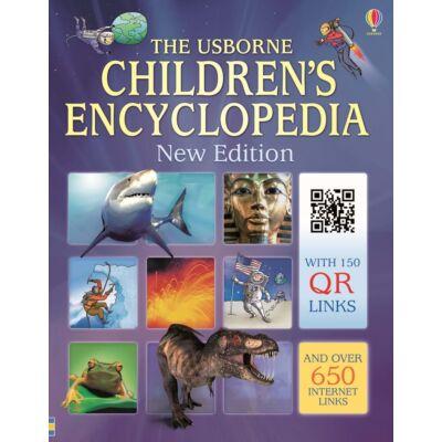 Children's encyclopedia with QR links