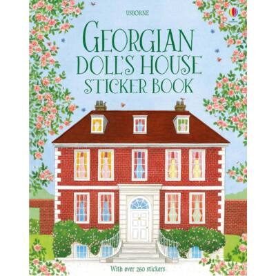 Georgian doll's house sticker book