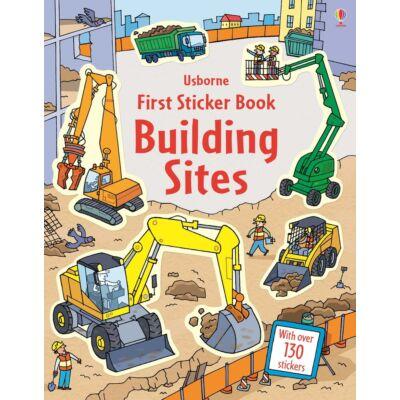 First Sticker Book Building Sites