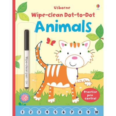 Wipe-clean Dot-to-Dot Animals