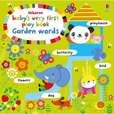 Baby's very first play book - Garden words