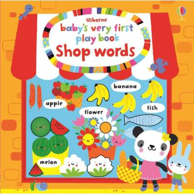 Baby's very first play book - Shop words