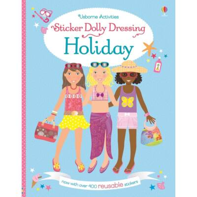 Sticker dolly dressing - On holiday