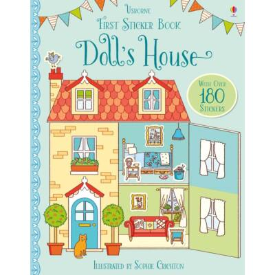 First Sticker Book - Doll's House