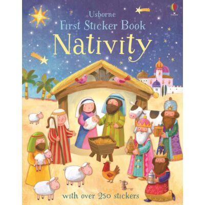 First Sticker Nativity
