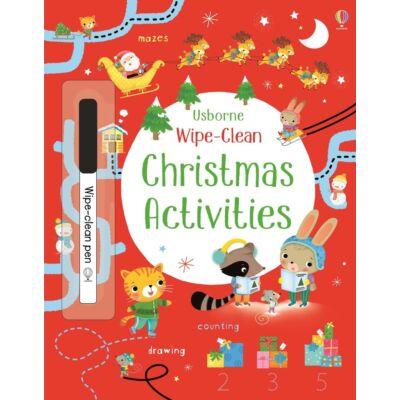 Wipe-Clean Christmas Activities