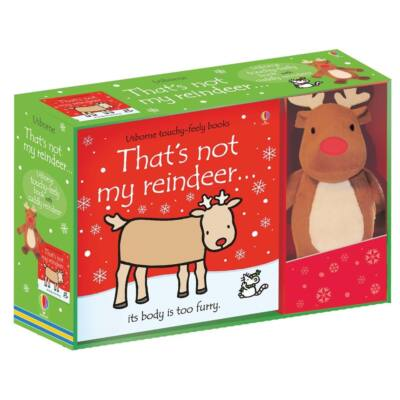That's Not My Reindeer... Book And Toy