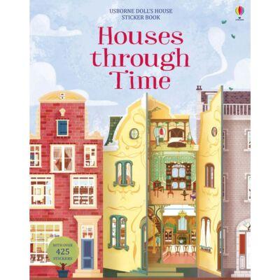 Houses through time sticker book