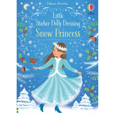 Little sticker dolly dressing Snow Princess