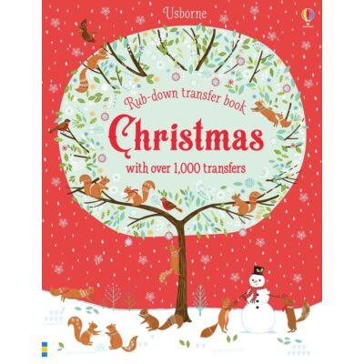 Rub-down Transfer Book Christmas