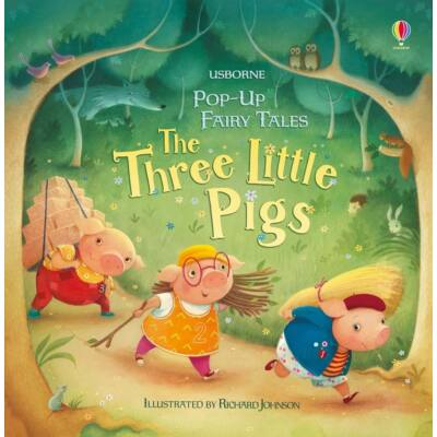 Pop-up three little pigs