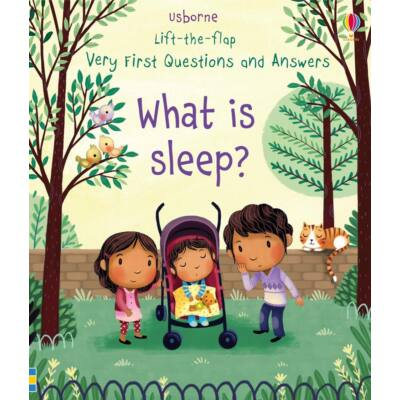Lift-the-flap very first questions and answers - What is sleep?