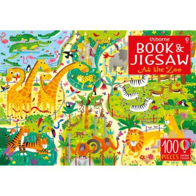 Book and Jigsaw At the Zoo