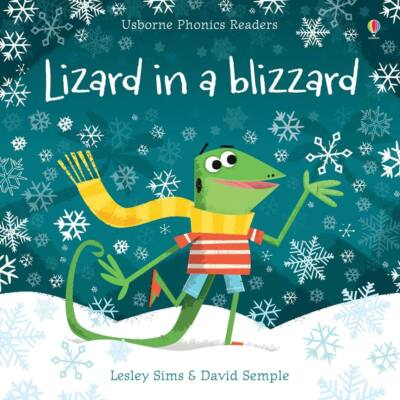Lizard in a blizzard
