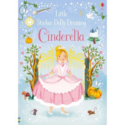 Little sticker dolly dressing Cinderella