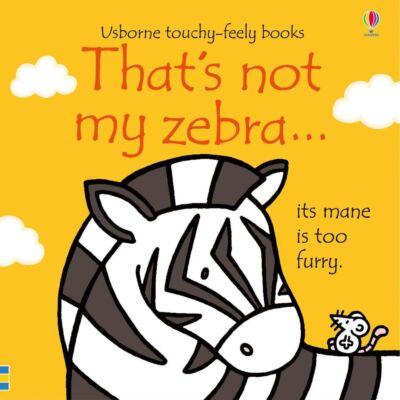 That's not my zebra…
