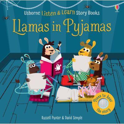 Listen and learn stories Llamas in pyjamas