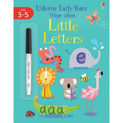 Early Years Wipe-Clean Little Letters
