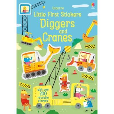 Little first stickers - diggers and cranes
