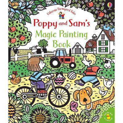 Poppy & Sam's Magic Painting Book (Farmyard Tales)