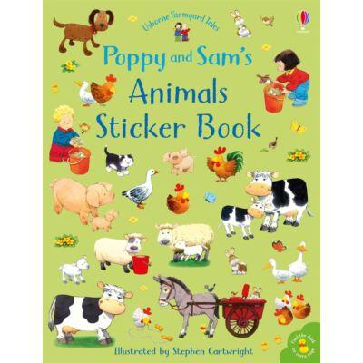Poppy & Sam's Animal Sticker Book (Farmyard Tales)