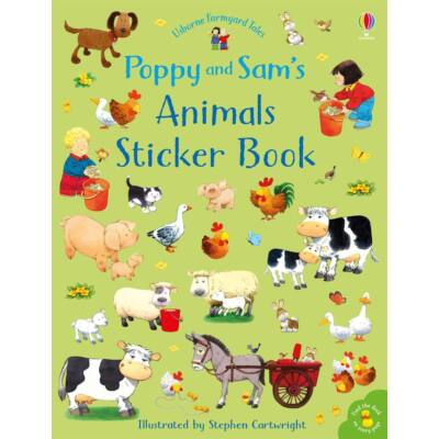 Poppy & Sam's Animal Sticker Book (Farmyard Tales)