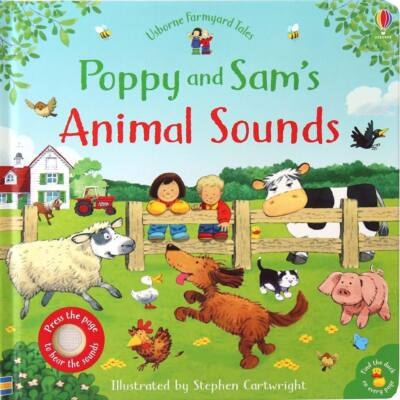 Poppy And Sam's Animal Sounds (Farmyard Tales)