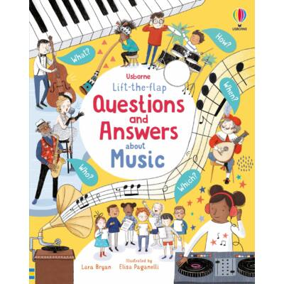 Lift-the-flap Questions and Answers - About Music