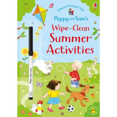 Poppy and Sam's wipe-clean summer activities (Farmyard Tales)