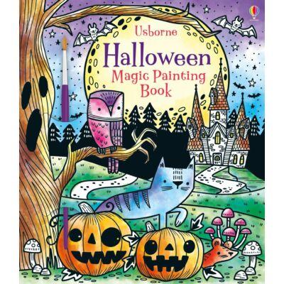 Halloween Magic Painting Book
