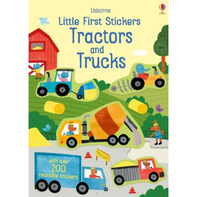Little first stickers - tractors and trucks