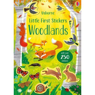 Little First Stickers - Woodlands