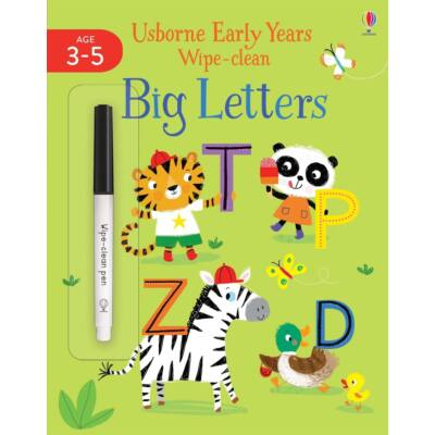 Early Years Wipe Clean - Big Letters