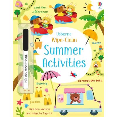 Summer Activities Wipe-Clean
