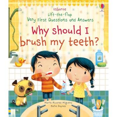 Lift-the-flap very first questions and answers - Why Should I Brush My Teeth?